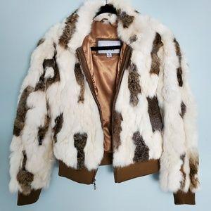 Wilson Leather Maxima Fur Bomber Jacket